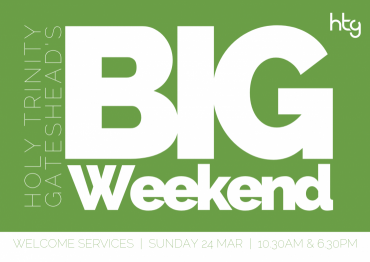The Big Weekend flyer front